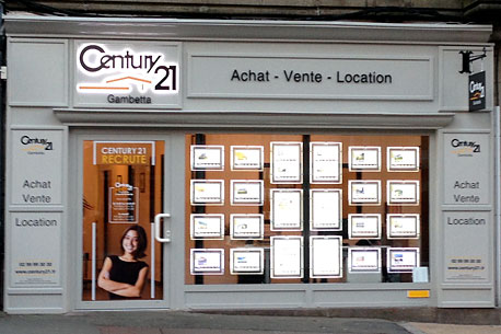 Agence immobilière CENTURY 21 Gambetta, 35300 FOUGERES